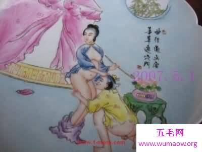古代春宫秘戏图,各种不同姿势教学