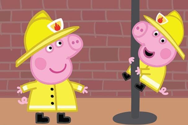 《小猪佩奇》性别歧视?伦敦消防局批其用词不当